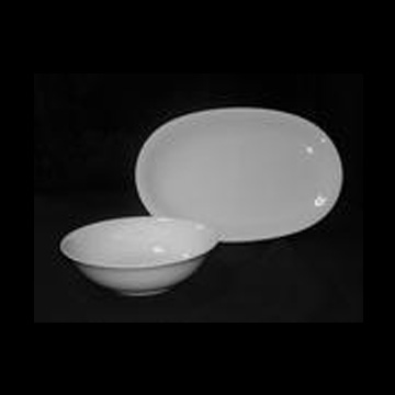 Fine White Serving Pieces