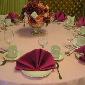 Pink Luncheon Table