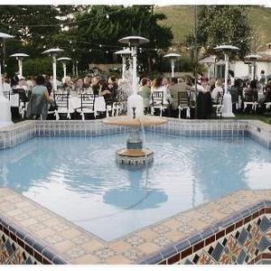Adamson House wedding reception