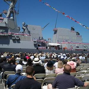 USS Stockdale Commissions Ceremony 2