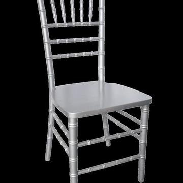 Chiavari Chair, Silver